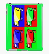 Pig Warhol like iPad Case/Skin