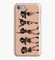 Black, Proud, & Carefree iPhone Case/Skin