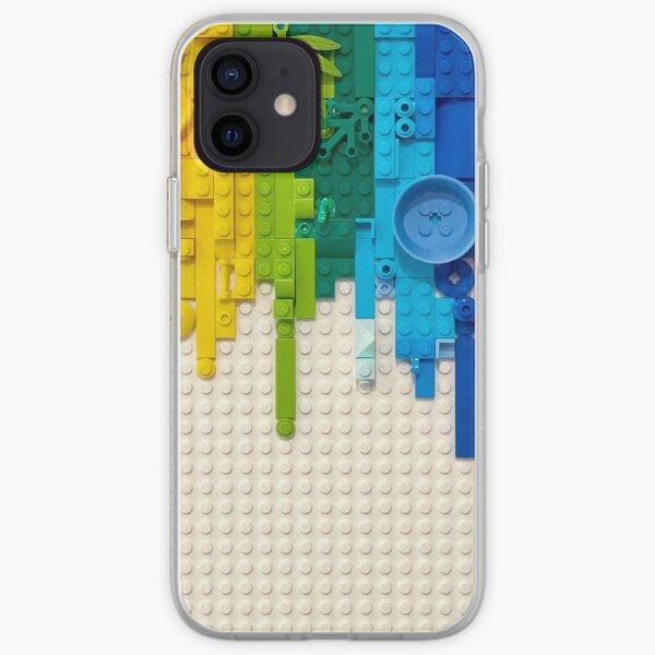 Rainbow drip iPhone Soft Case