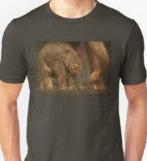 Close to mom... Unisex T-Shirt