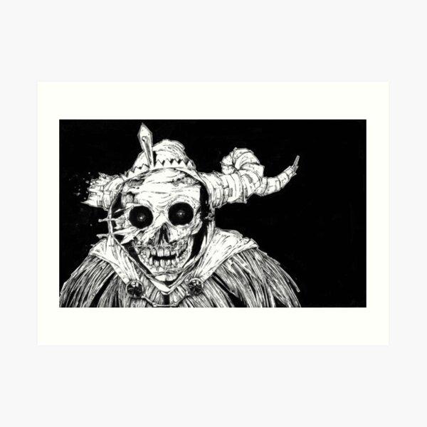 The Lich Art Print