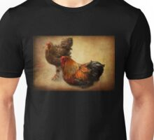 Rooster and hen Unisex T-Shirt