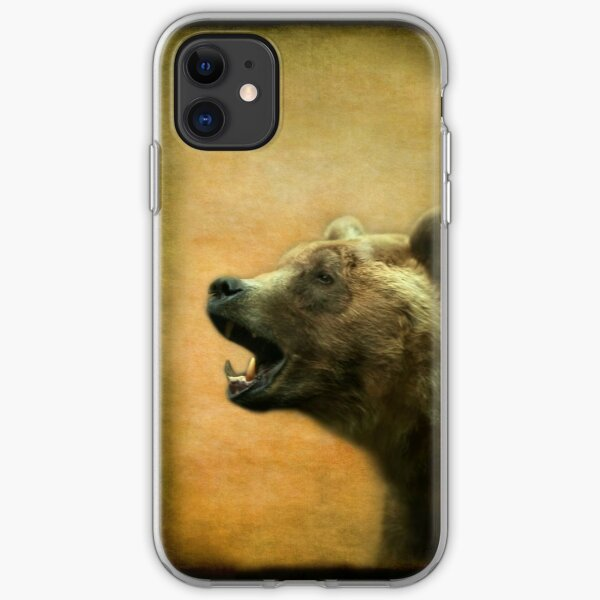 The Call of the Bear - iPhone Case iPhone Soft Case