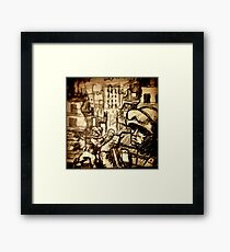 This is War on a Post-It Note Framed Print