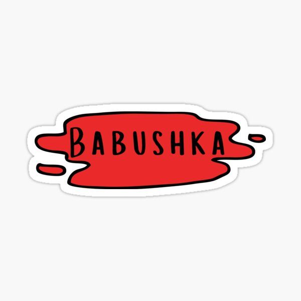 Babushka!! Sticker