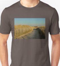 Path through the dunes Unisex T-Shirt