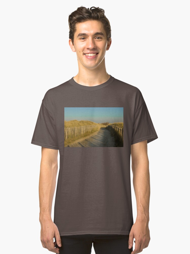 Alternate view of Path through the dunes Classic T-Shirt