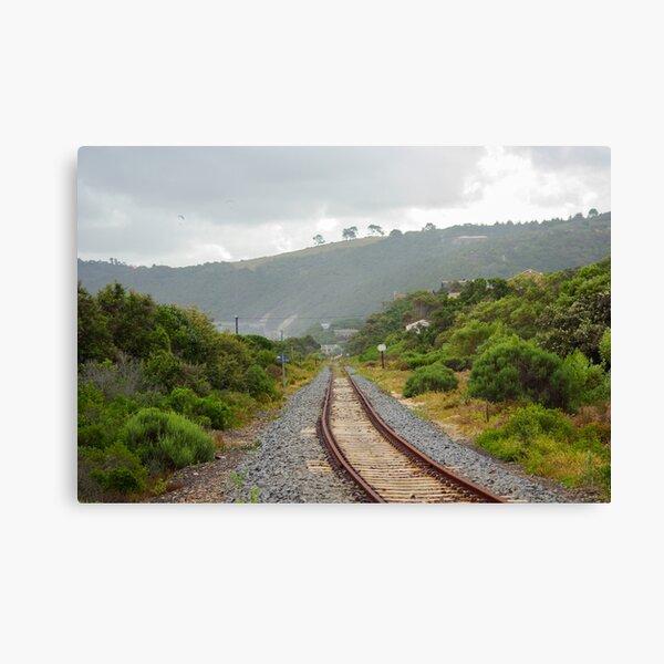 Wilderness Railway Canvas Print