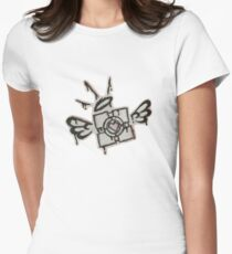 Companion Cube Women's Fitted T-Shirt