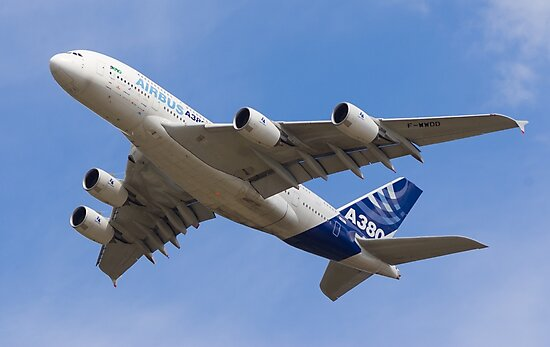 A380 Flypast by Jet Shots