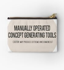 Manually Operated Concept Generating Tools - Peach Studio Pouch