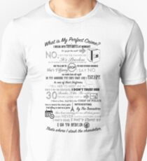 The Office: Dwight's Perfect Crime Unisex T-Shirt
