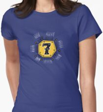 Lucky Seven Womens Fitted T-Shirt