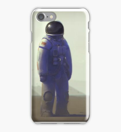 The Girl From Earth iPhone Case/Skin