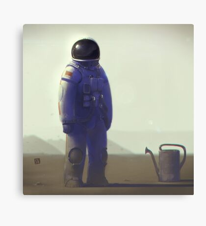 The Girl From Earth Canvas Print