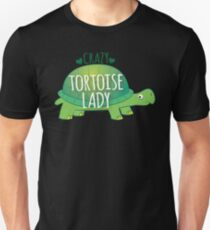 Crazy Tortoise lady T-Shirt