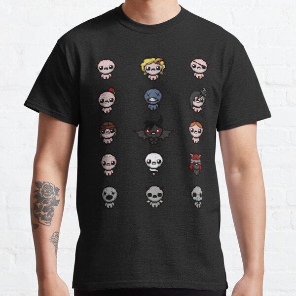 Binding of Isaac Character Grid Classic T-Shirt