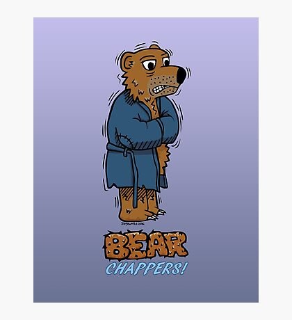 Bear Chappers Photographic Print