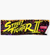 street fighter 2 Poster