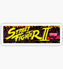 street fighter 2 Sticker