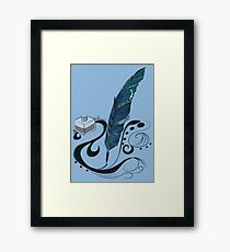 Ink Framed Print