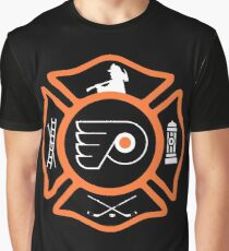 Philadelphia Fire - Flyers style Graphic T-Shirt
