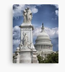 Washington DC Canvas Print