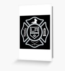 LAFD - Kings style Greeting Card
