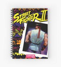 street fighter ryu  Spiral Notebook