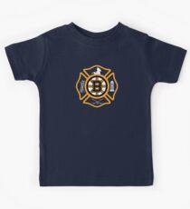 Boston Fire - Bruins style Kids Tee