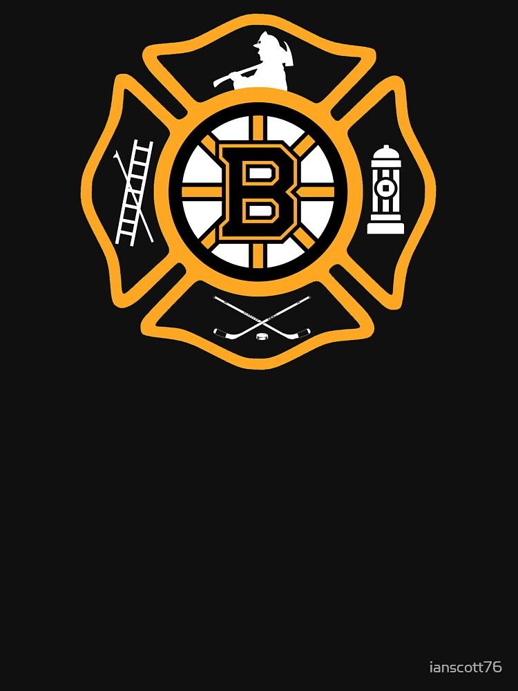 Boston Fire - Bruins style by ianscott76