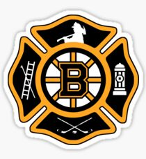 Boston Fire - Bruins style Sticker