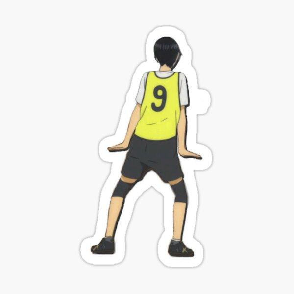 Kageyama is an adorable nerd Sticker