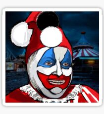 POGO the CLOWN - Serial Killer John Wayne Gacy Sticker