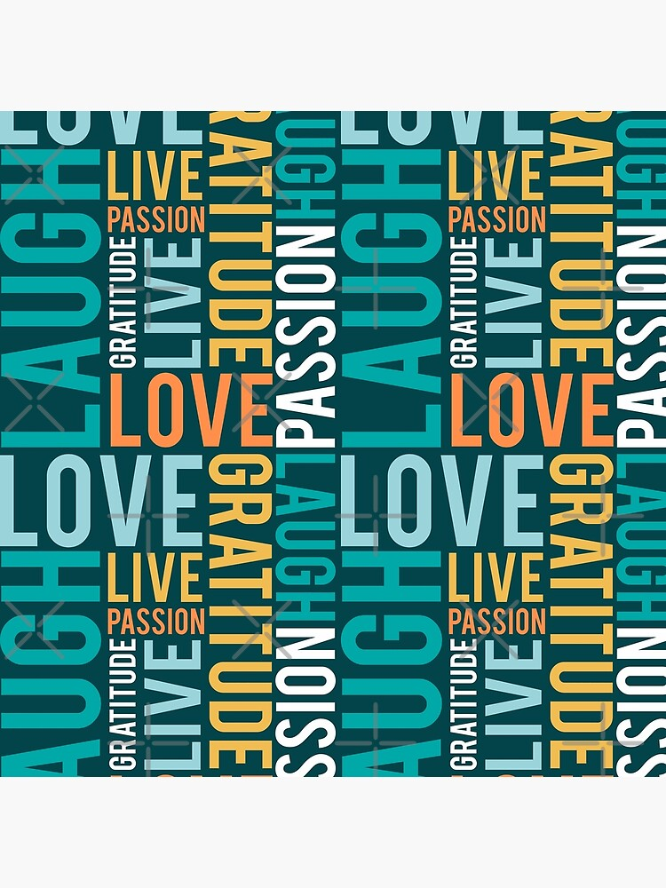 Live, Laugh, Love by MyMadMerch
