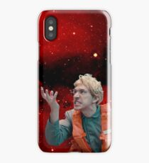 Angry Space Boy iPhone Case
