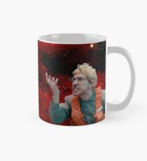Garçon de l'espace en colère Mug