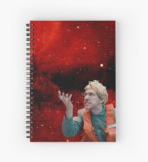 Angry Space Boy Spiral Notebook