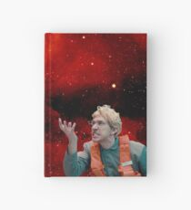 Angry Space Boy Hardcover Journal