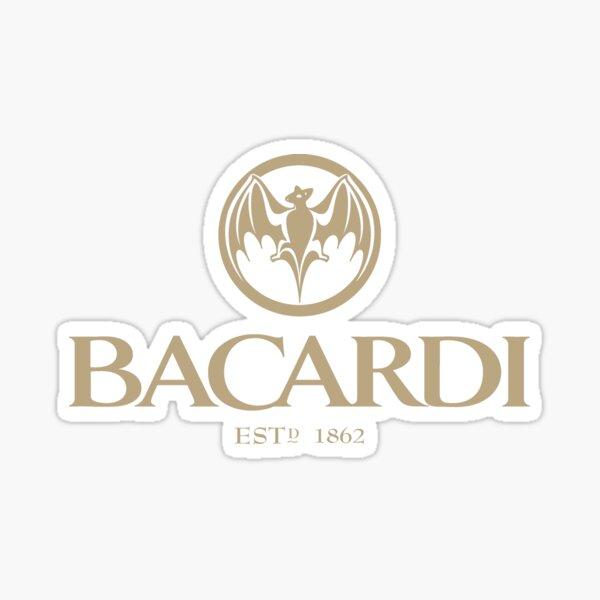 Bacardi estd. 1862 Pegatina