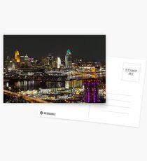 Cincinnati from Devou Postcards