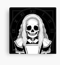 Alice (Stack's Skull Sunday) Canvas Print