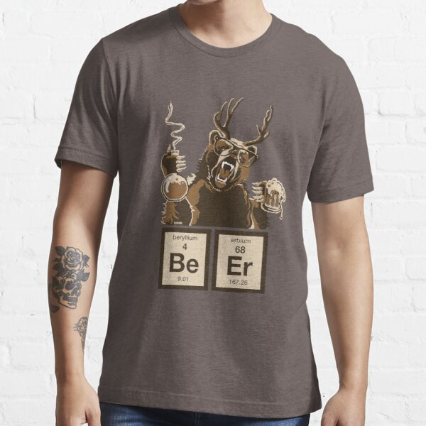 Chemistry bear discovered beer Essential T-Shirt