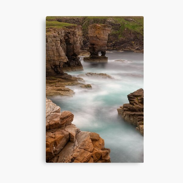 Yesnaby Castle  West Mainland Orkney Scotland. Canvas Print