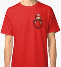 Pocket Mario  Classic T-Shirt