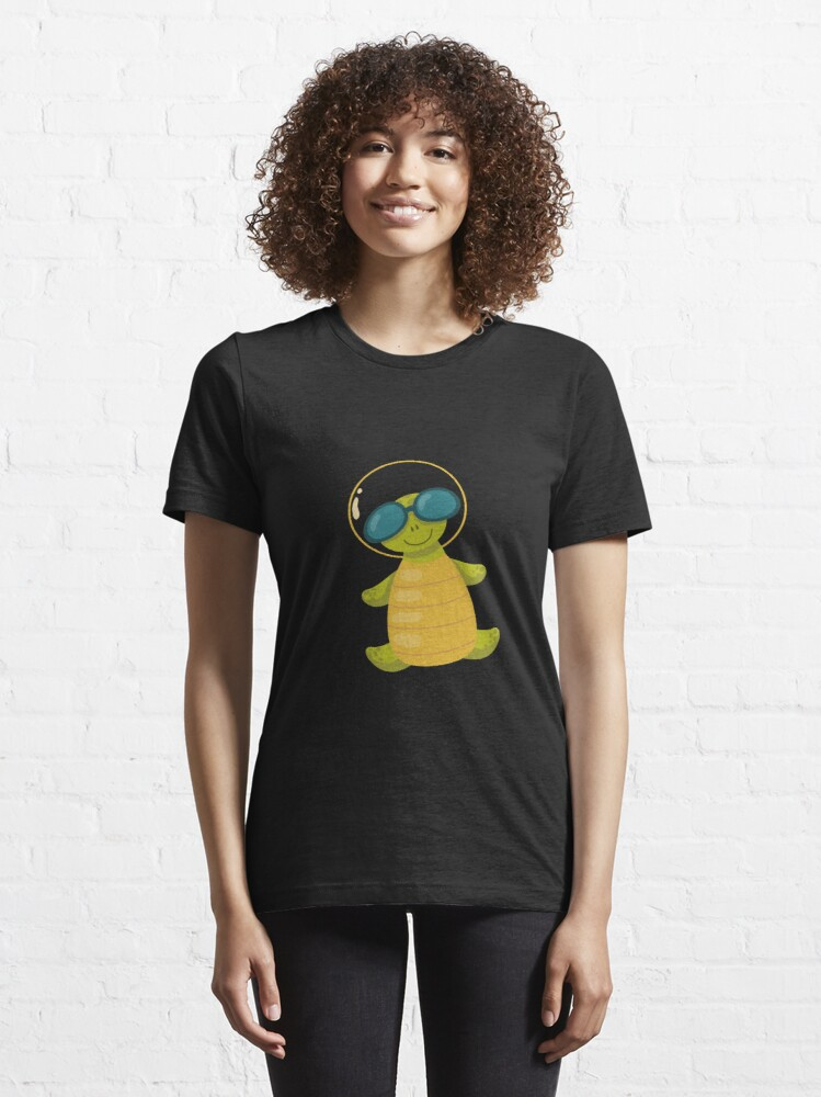 Alternate view of space turtle Essential T-Shirt