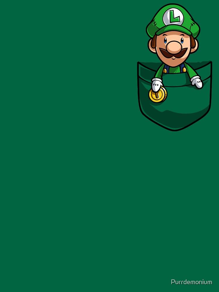 Pocket Luigi | Unisex T-Shirt