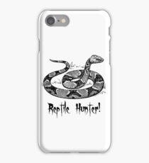 Reptile Hunter! iPhone Case/Skin