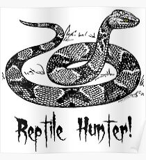 Reptile Hunter! Poster