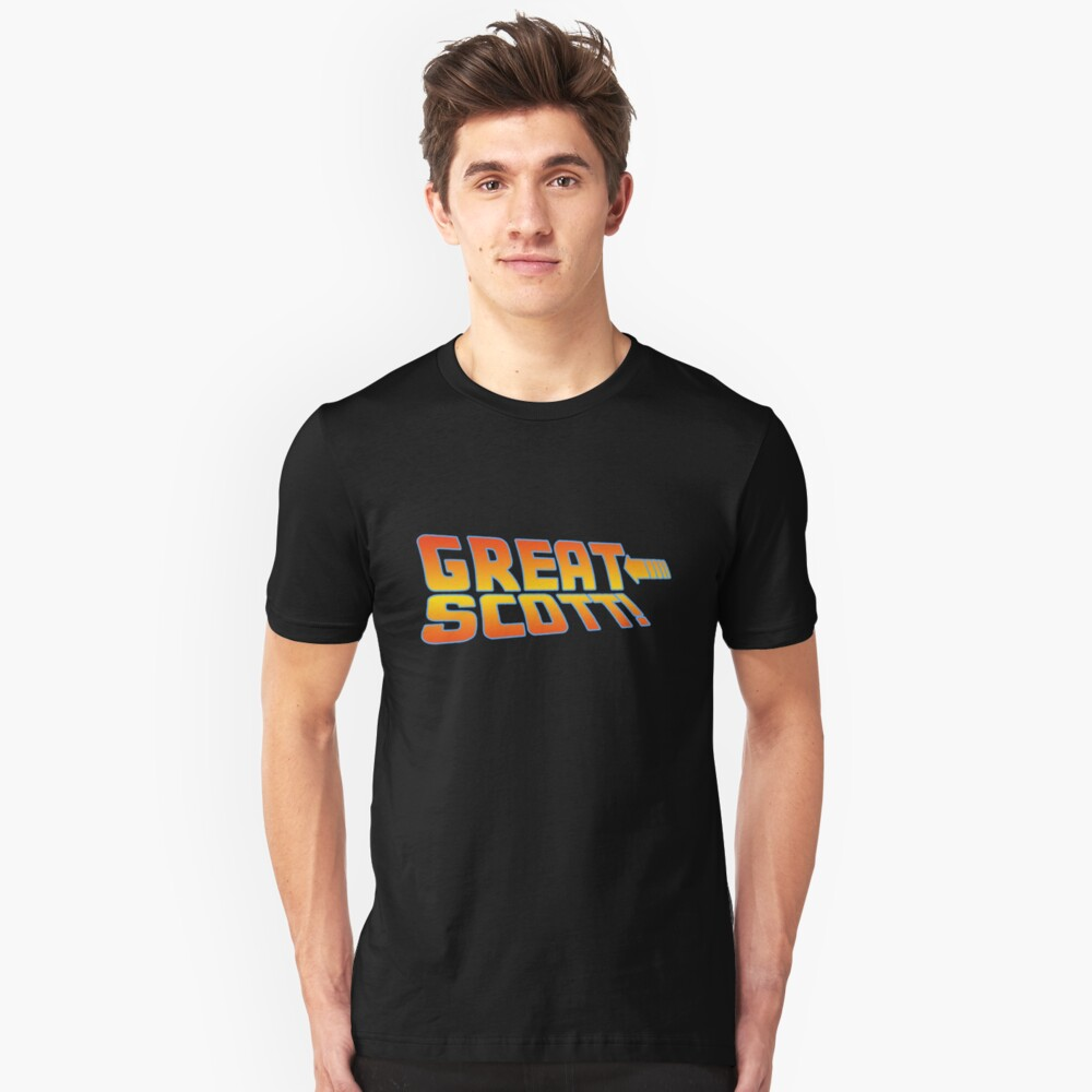 Great Scott! (Back To The Future) Unisex T-Shirt Front